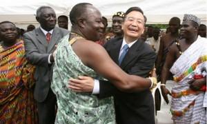Entwicklungshilfe aus dem Entwicklungsland China