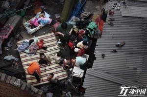 Waisen mit Behinderungen in China