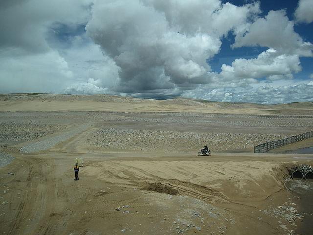 Desertifikation in China