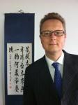 Frank Hartmann, Chef der Presseabteilung der Deutschen Botschaft in Beijing