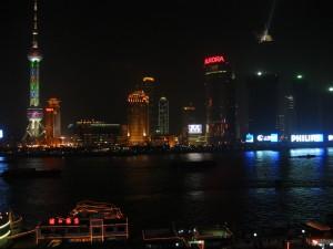 Pudong, Shanghai - Eines der Zentren des chinesischen Finanzsektors © Pachd.com