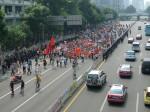 Antijapanischer Protestmarsch in Shenzhen ©Florian Jung