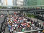 Eine Anti-Japan Demonstration in Shenzhen. ©Florian Jung
