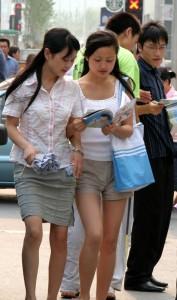 Haben Frauen in China die gleichen Chancen wie Männer? © Ernie, pigs.de