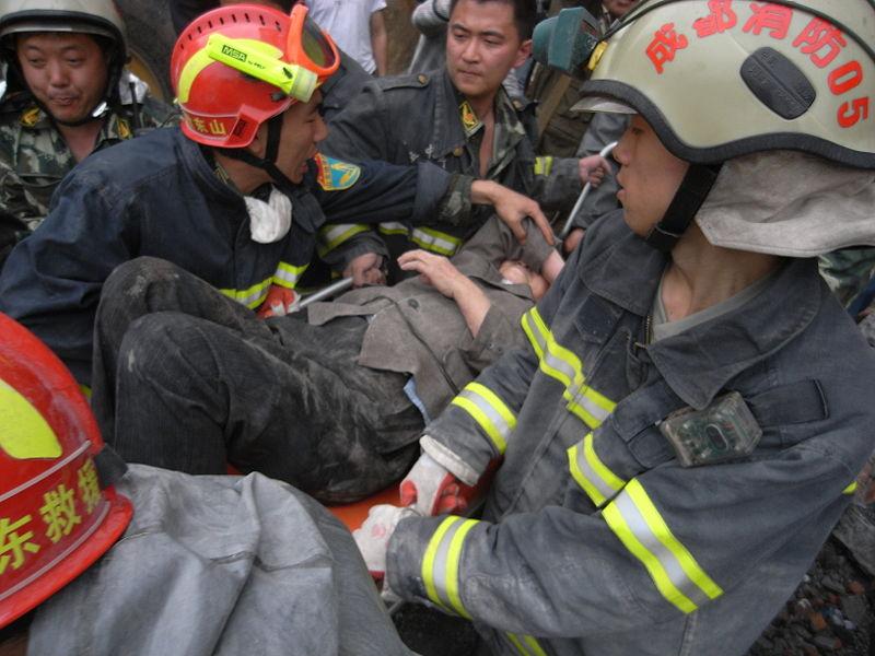 NGOs übernehmen in China wichtige Aufgaben, z.B. die Unterstützung der Katastrophenhilfe. © Wikimedia Commons