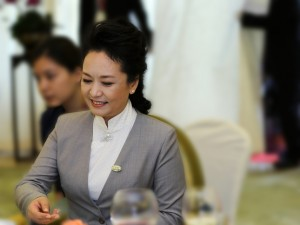 Peng Liyuan bei einer offiziellen Veranstaltung im April 2013 © Angélica Rivera de Peña