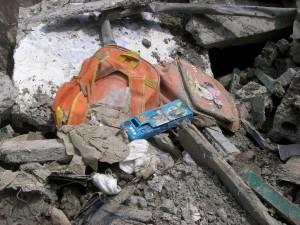 Besonders die überdurchschnittlich vielen zusammengebrochenen Schulen sorgten nach dem Beben in 2008 für Aufruhr und Kritik in Sichuan. © Viviane Lucia Fluck