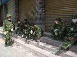 Das chinesische Militär konzentrierte seine Katastrophenhilfe kurz nach dem Erdbeben vor allen Dingen auf die Ballungszentren in Sichuan. © Viviane Lucia Fluck