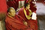 Buddhistische Mönche gelten oft als das Symbol des tibetischen Freiheitsstrebens. © Colin Nisbet, Wikimedia Commons.