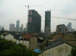 Hochhäuser in Wuxi - Immer mehr Neubauten prägen das Stadtbild © Ella Daschkey