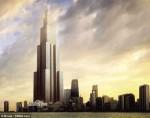 """Entwurf für """"Sky City"""" – Das höchste Gebäude der Welt soll bald in Changsha stehen. © Wikimedia Commons"""