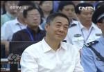 Bo Xilai im Gericht  © Screenshot vom chinesischen Fernsehen Yong Yang