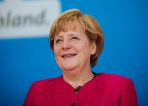 Angela Merkel bleibt unangefochtene Kanzlerin © Alexander.kurz, Wikimedia Commons
