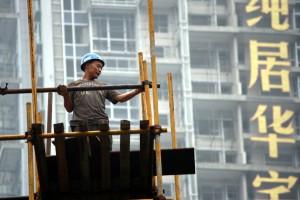 Trotz Problemen auf dem Immobilienmarkt wird in China weiter gebaut © Joschka Heinz