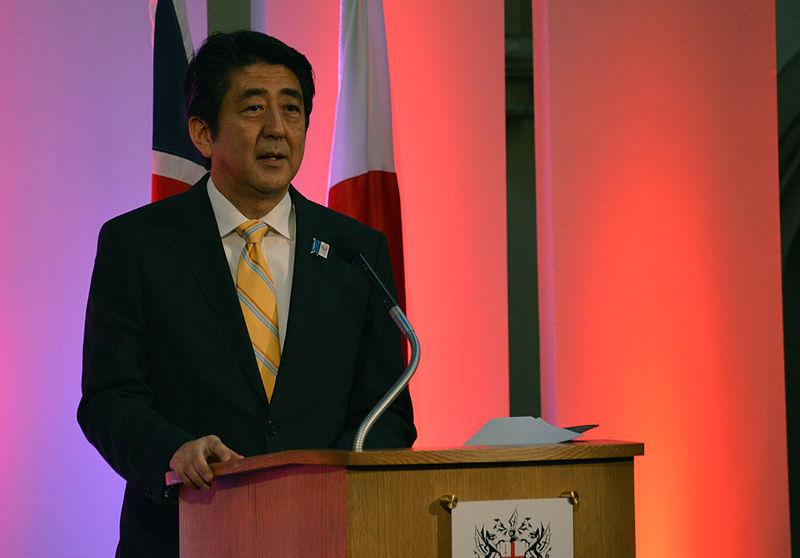 Japanischer Premierminister Shinzo Abe © russavia, via Wikimedia Commons