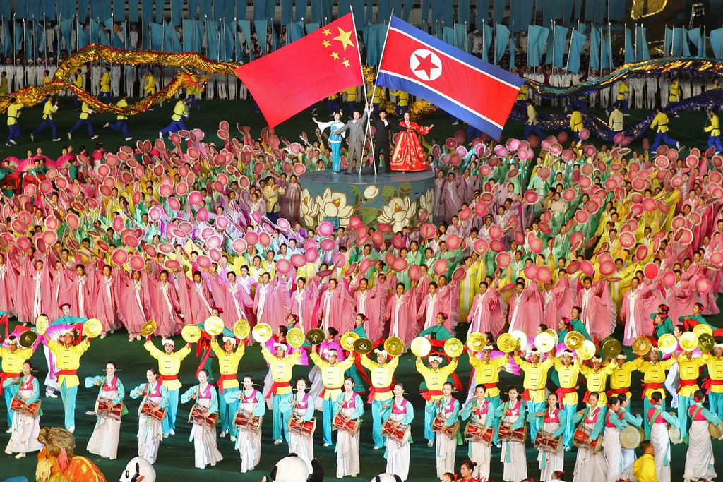 Eine Feier zu Ehren der Freundschaft zwischen Nordkorea und China. Doch ist diese Freundschaft gefährdet, wenn China sich der westlichen Kritik anschließt? © Roman Harak, via Flickr