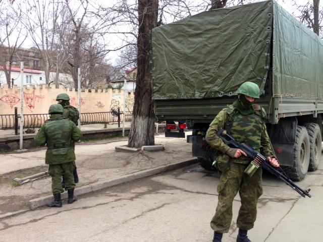 Kommt es zu einer militärischen Auseinandersetzung auf der Krim? © E. Arrott, via Wikimedia Commons