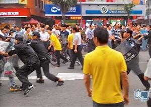 Aufruhen in Dongguan