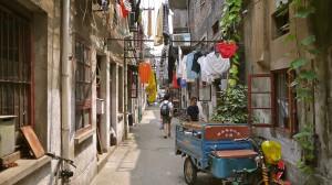 Wohnviertel in Shanghai