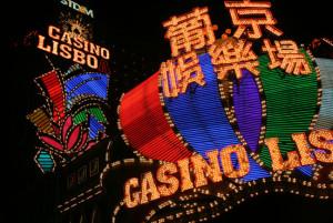 Macao Hotel bei Nacht