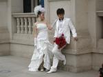Ein chinesisches Brautpaar