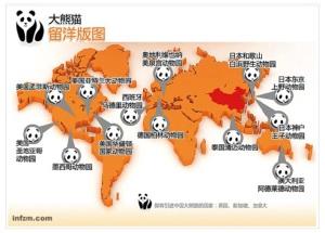 Verliehene Pandas weltwirt © Nanfang Zhoumo