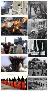 Collage Vergleich Kulturrevolution-ISIS