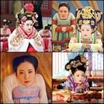 Chinesische Netizen reagieren kreativ auf die Dekolleté-Zensur.  Foto: Weibo Screenshot Collage