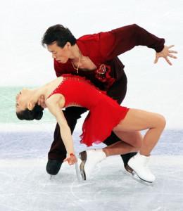 Shen Xue und Zhao Hongbo bei den olympischen Spielen 2010 in Vancouver © David W. Carmichael via Wikipedia