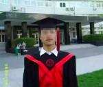 Lei Yang bei seiner Abschlussfeier an der Renmin-Universität Quelle: Screenshot von Weibo, 22.5.16