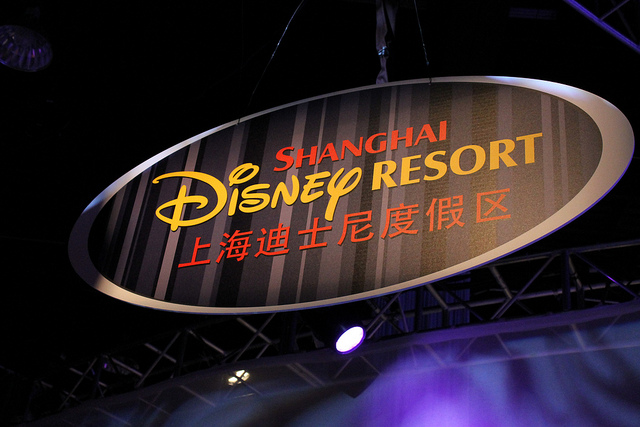 Disneyland in Shanghai Quelle: Loren Javier, Flickr CreativeCommons