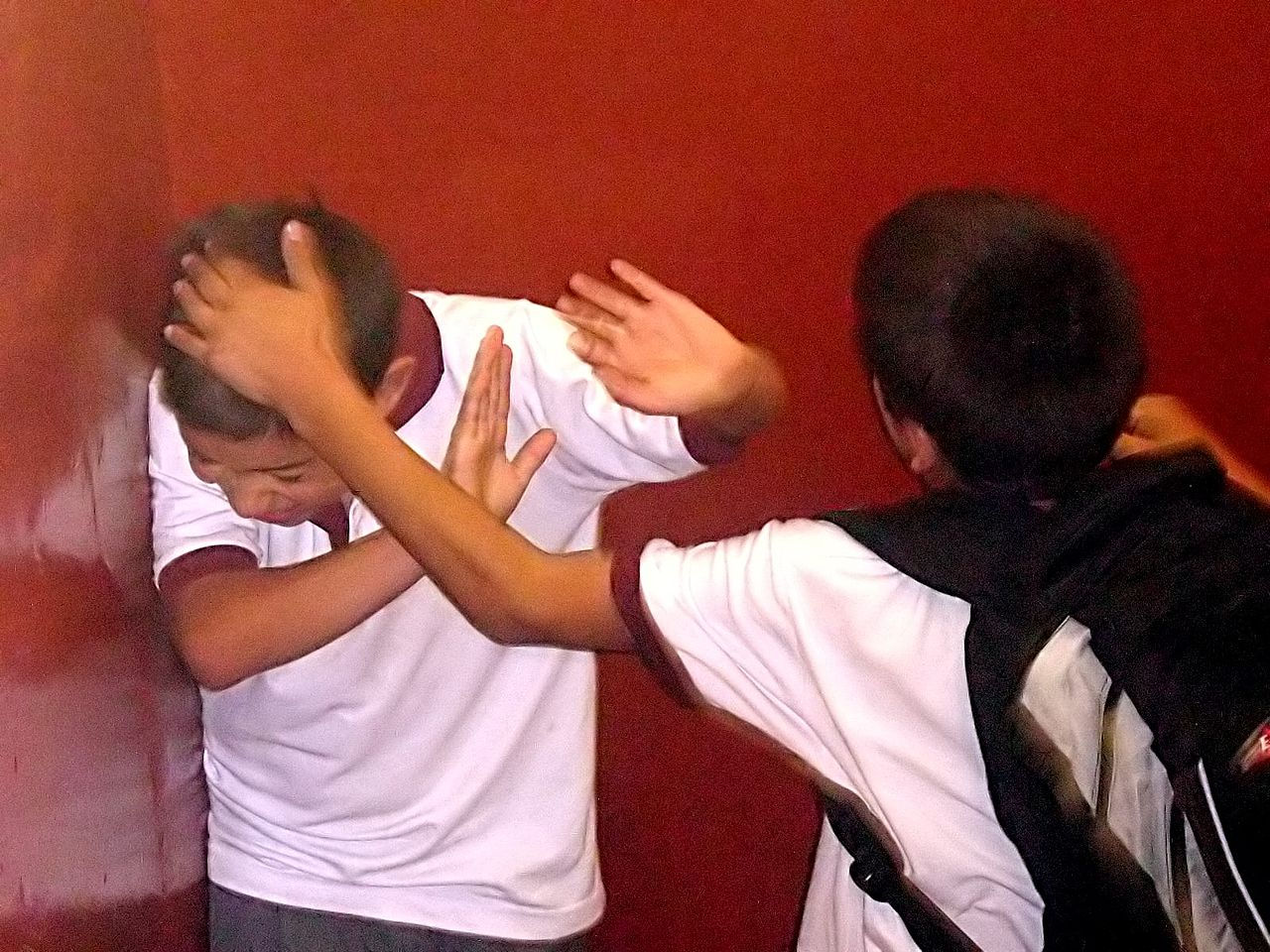Mobbing in Chinas Schulen ist ein ernstes Problem. (C) Diego Grez via Wikipedia.
