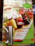 Speisekarte für Nachmittagstee in Hongkong, (c) Beryl Chan Atalar