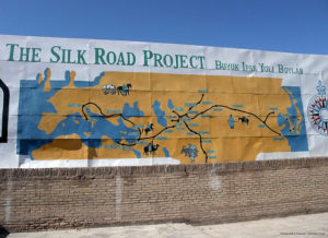 Karte der alten Seidenstraße in Zentralasien, (c) Jori Avlis via Flickr Creative Commons, http://tinyurl.com/glkuwu6