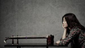 Foto des klassischen Saiteninstruments Erhu von crazydean, Flickr: http://tinyurl.com/z6cjhn8