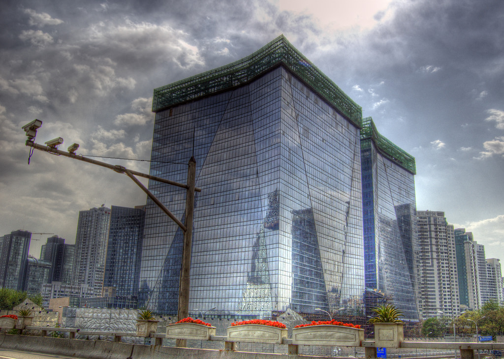 Überwachungskameras im chinesischen Stadtbild; Bild von Jakob Montrasio, Rechte @Flickr CreativeCommons