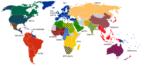Freihandelsabkommen mit mehr als drei Teilnehmerstaaten - geht die Entwicklung hin zu einem globalen Freihandel? (c) Wiki,  http://tinyurl.com/z587y2e