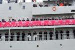 Soldaten auf dem chinesischen Militärschiff Zheng He auf Freundschaftsmission in der Welt. Foto: Royal New Zealand Navy via Flickr (https://goo.gl/JTTnUP)