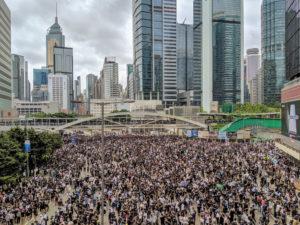 Bis zu zwei Millionen Hong Konger beteiligten sich an den Protesten. Studio Incendo via Wikimedia.