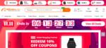 Countdown bis zum Ende des Megaverkaufsereignisses - auch außerhalb Chinas kommt der Singles' Day gut an (Screenshot von www.alibaba.com)