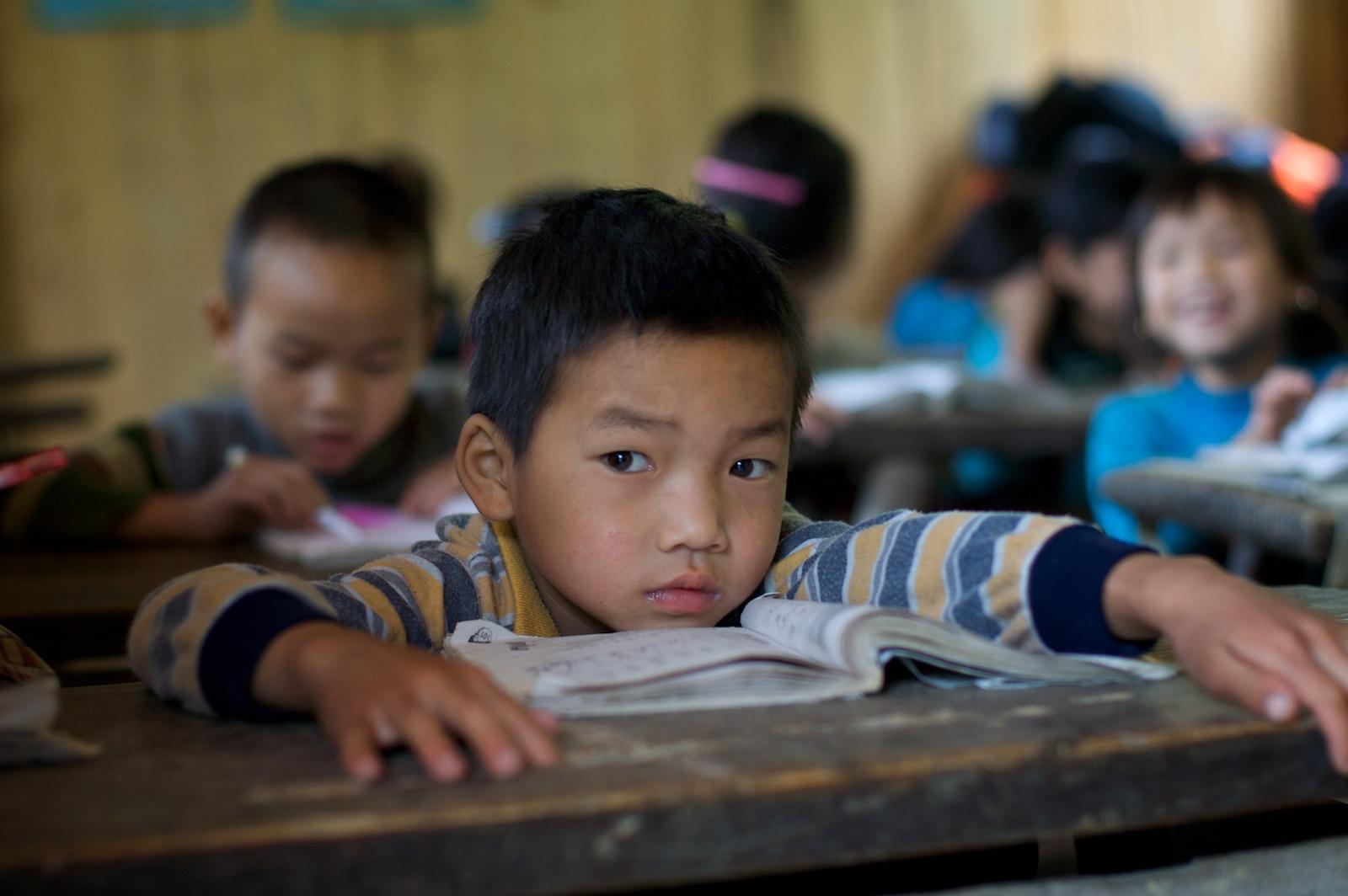Zaimen Grundschule im Dorf Fengdeng, Provinz Guizhou; (c) Randomix, https://www.flickr.com/photos/randomix/2589947842/